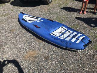 Kayak hinchable canoa