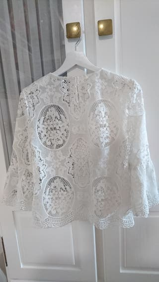 blusa calada