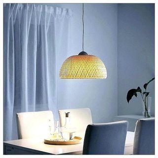 Lámpara techo mano por de IKEA bambú ratán segunda BÖJA de OPk0wn