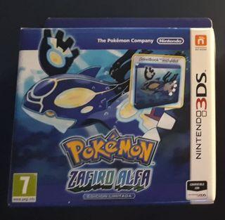 Edicion Limitada Pokemon Zafiro Alfa Nintendo 3DS