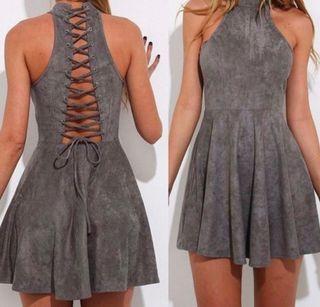 Silver/ grey dress