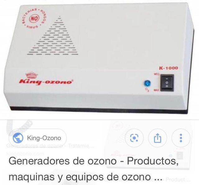 Ozono. Purificador de aire