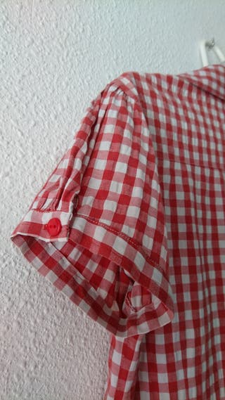156e72544 Camisas para mujer cuadros de segunda mano en Zaragoza en WALLAPOP