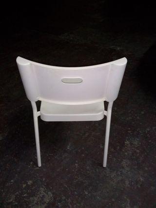 Lote de 3 sillas