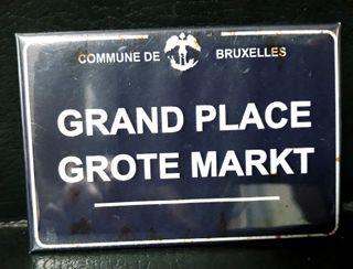 Bruselas imán nevera souvenir vintage
