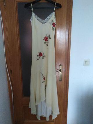 Vestido fiesta, novia, boda civil. T38