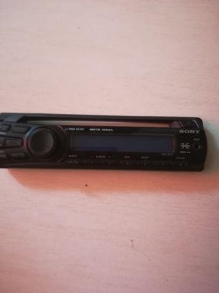 frontal radio de coche Sony