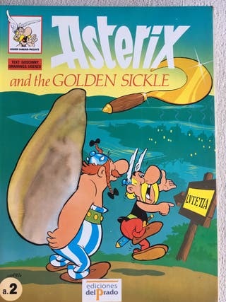 Cómics de Asterix y Obelix