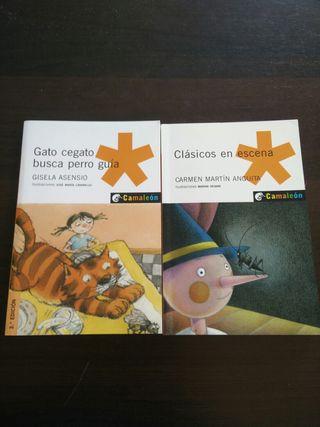 Libros infantiles, serie Camaleón.