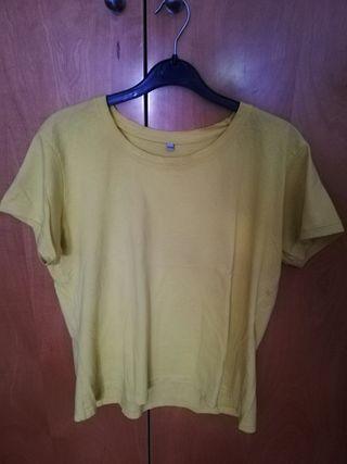 Camiseta amarilla mujer t. SSG