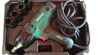 Parkside atornilladora impacto electrica //