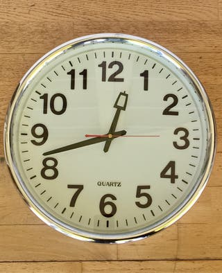 Reloj de pared Quartz grande 37cm