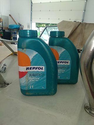 Aceite Náutico 2 tiempos Repsol (1.5l) fueraborda