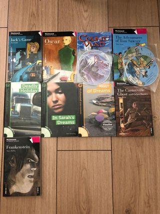 Libros de lectura de Inglés.