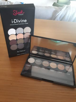Sleek I-Divine Paletta sombras de ojos