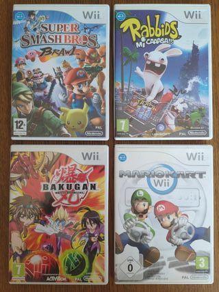 *OFERTÓN* Pack de Juegos Wii + Mando Volante
