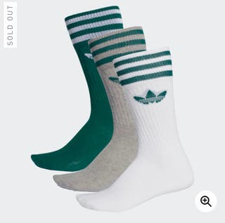 NEW Adidas high socks (UK 8.5-11)