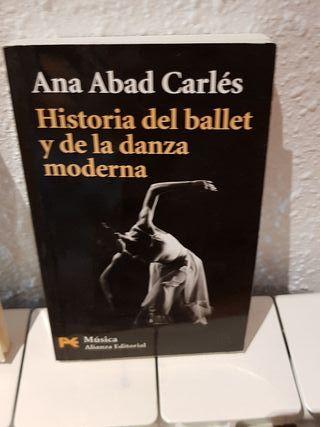 història del ballet y la danza moderna