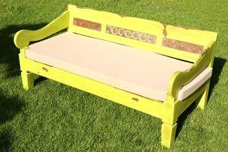 Oferta sofa teca balinesa
