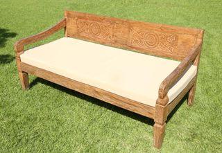 Sofa de teca balinesa