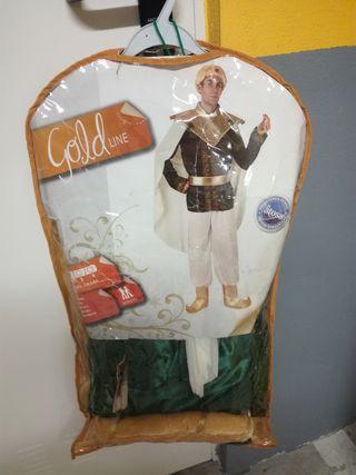 Disfraz de Príncipe Árabe, talla mediana. Puesto u