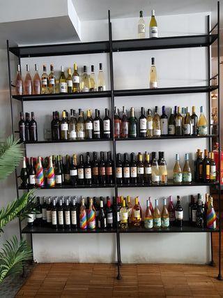 estantería - botellero