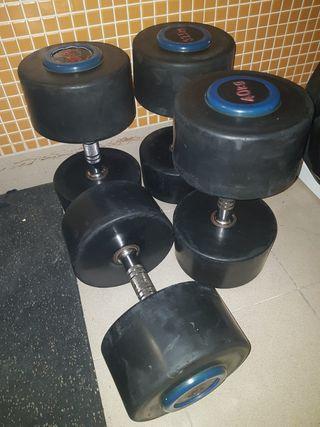 Mancuernas de 40kg