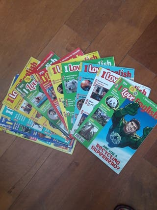 11 revistas I love English