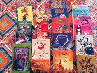 Colección de libros juveniles