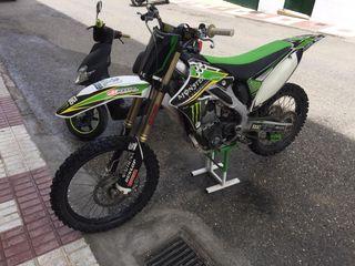 Moto de cross kawasaki kxf 250cc