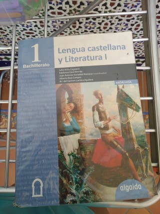Libro de lengua castellana y literatura de 1°bach