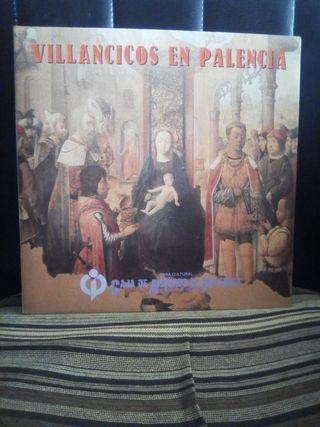 """disco vinilo """"Villancicos en Palencia"""""""