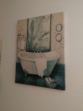 cuadro de lavabo