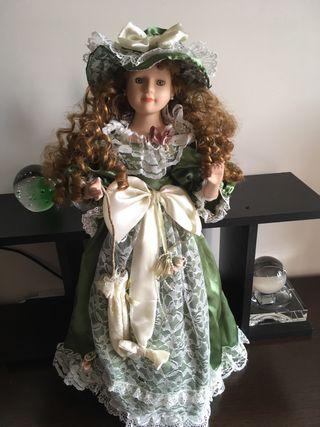Muñeca porcelana edicion limitada