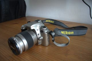 Nikon F55 + Nikkor 28 - 80mm
