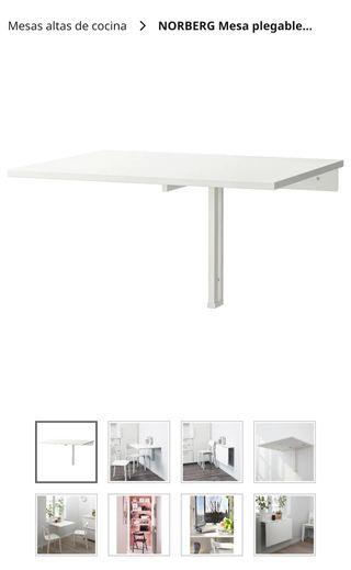 mesa abatible Ikea Norbeg