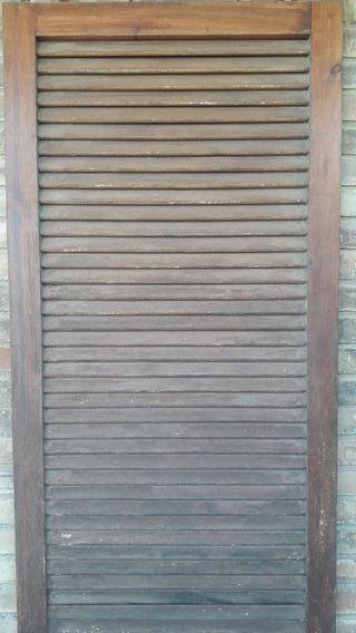 Puertas correderas de madera antiguas