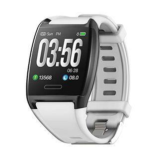 Reloj inteligente deportivo IP67 blanco