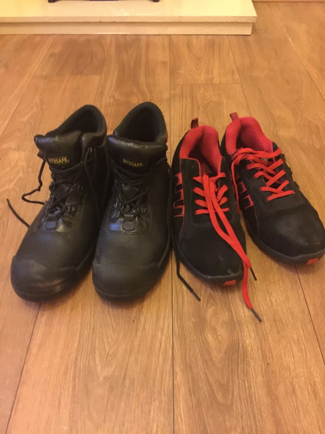2 Pairs Safety Shoes
