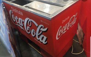 nevera botellero coca cola