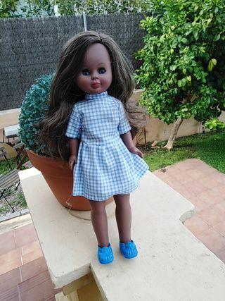 preciosa muñeca negrita Kika molde de nancy