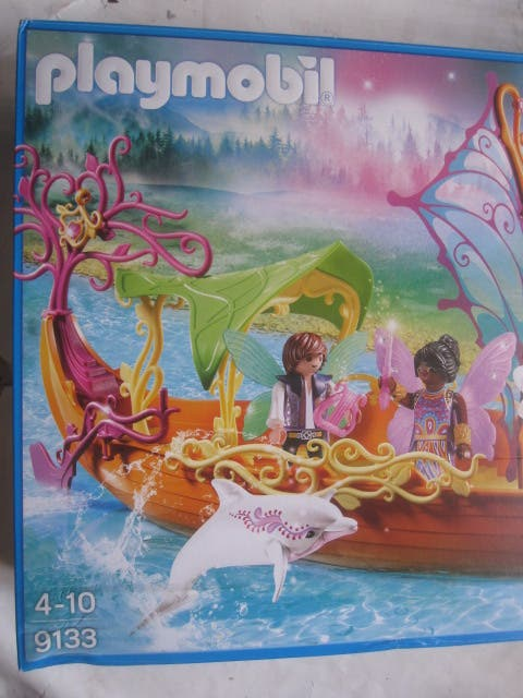 Playmobil 9133 caja Barco Romántico de las Hadas