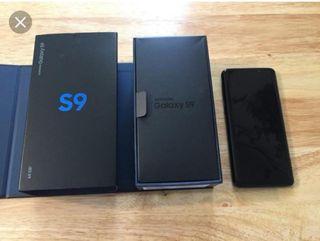 caja Samsung galaxy s9