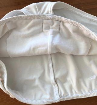 Shorty ou Bas de maillot de bain blanc T. 34-36
