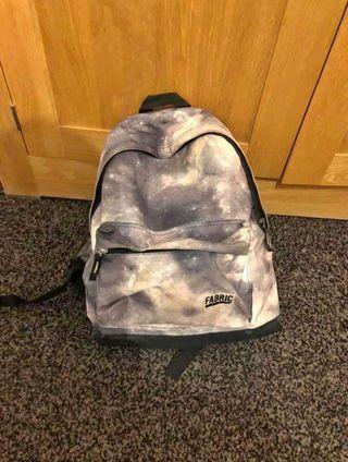 Grey galaxy backpack