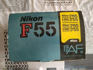 Cámara réflex marca Nikon