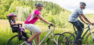 Silla portabebe bicicleta reclinable
