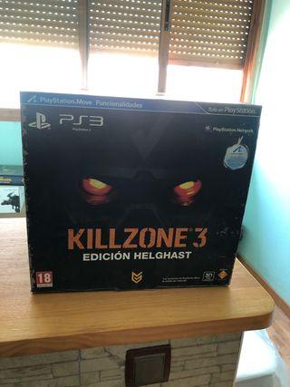Killzone 3 edición Helghast PS3