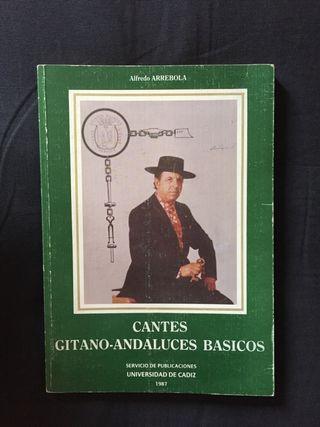Cantes Gitano-Andaluces Básicos de Alfredo Arrebol