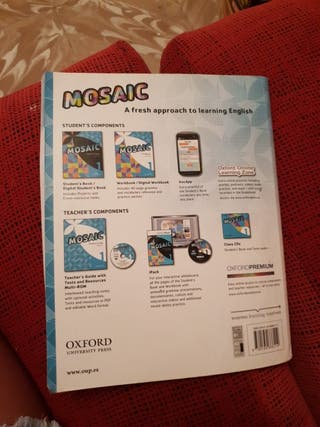 Libro 1 de eso Mosaic Workbook Oxford